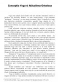Imagine document Conceptia Yoga si Atitudinea Ortodoxa