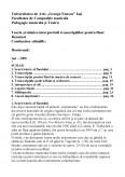 Imagine document Teoria si tehnica interpretarii transcriptiilor pentru flaut