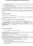 Imagine document Psihologia persoanei