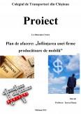Imagine document Plan de Afacere - Infiintarea unei Firme Producatoare de Mobila