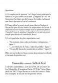 En Employant Le Pronom On Hugo Commentaire Compose La Fin De Javert