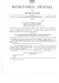 Imagine document Acte ale organelor de specialitate ale administratiei publice centrale