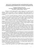 Influenta Traditiilor Populare Romanesti Asupra Filosofiei si Religiozitatii lui Constantin Brancusi