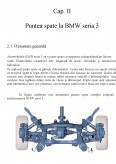 Imagine document Puntea posterioara la automobilul BMW seria 3