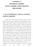 Participarea Romaniei la jocurile olimpice moderne